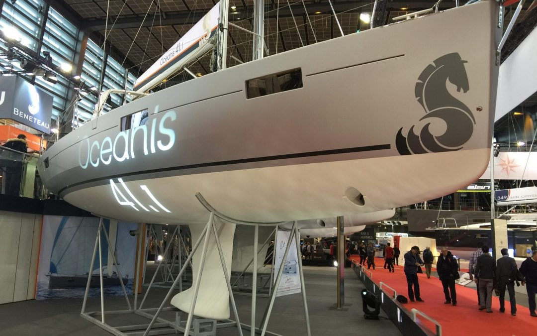 Sneak Peek on New Oceanis 41.1 at Paris Boat Show