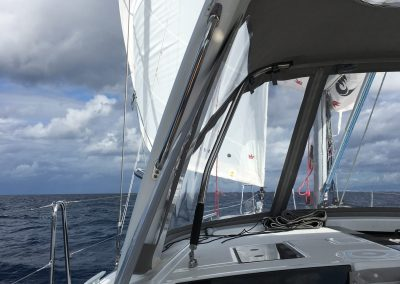 oceanis 41.1 Fearless d sailing bareboat yacht charter rent a boat