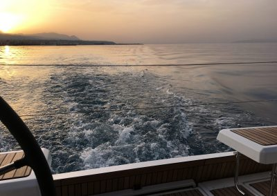 oceanis 41.1 beneteau sunset bareboat charter Greece rent a boat in Greece sailing holidays