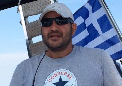 Dimitris logothetis in the wheel